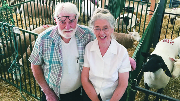 Western Producer showcases Vancouver Island NC Cheviot breeders